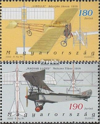 Hungary 4713-4714 (complete.issue.) unmounted mint / never hinged 2002 Aviation