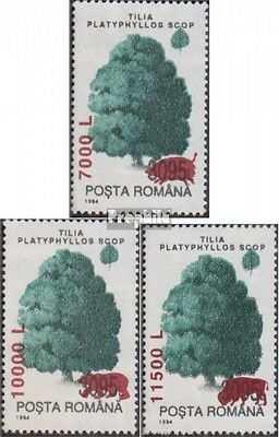 Romania 5546-5548 (complete.issue.) unmounted mint / never hinged 2000 clear bra