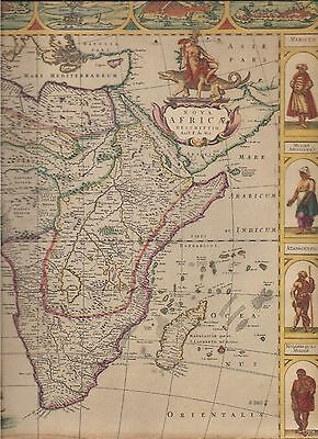 AFRICA map-1943-(reproduced from original 1660).