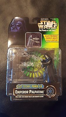 Kenner Star Wars Power Of The Force Electronic Emperor Palpatine Save 5%