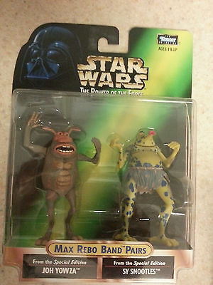 Kenner Star Wars Power Of The Force Max Rebo Band 2 PACK Joh Yowza & Sy Snootles