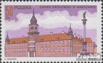 Poland 3098 (complete.issue.) unmounted mint / never hinged 1987 Königsschloß, W