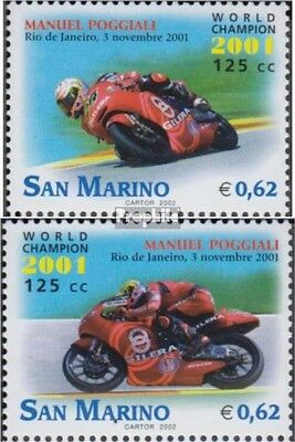 San Marino 2010-2011 (complete.issue.) unmounted mint / never hinged 2002 Motorc