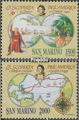 San Marino 1493-1494 (complete.issue.) unmounted mint / never hinged 1992 Discov