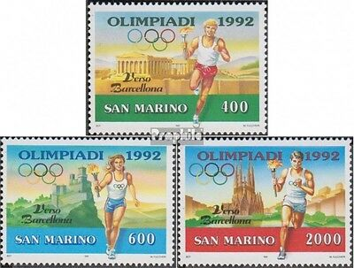 San Marino 1474-1476 (complete.issue.) unmounted mint / never hinged 1991 Olympi