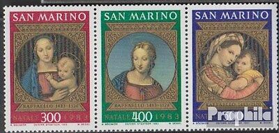 San Marino 1288-1290 triple strip (complete.issue.) unmounted mint / never hinge