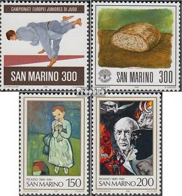 San Marino 1240,1241,1242-1243 (complete.issue.) unmounted mint / never hinged 1
