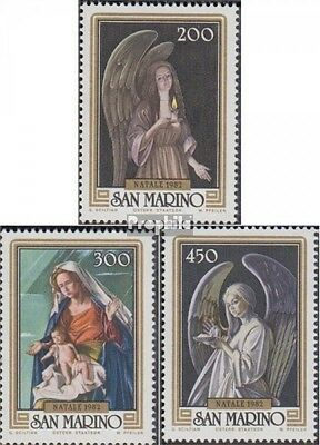 San Marino 1267-1269 (complete.issue.) unmounted mint / never hinged 1982 christ