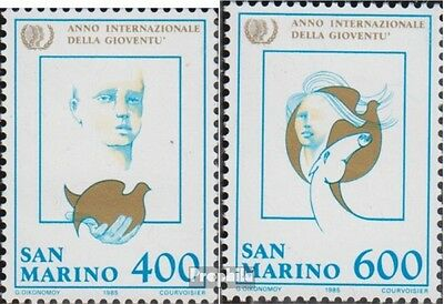 San Marino 1321-1322 (complete.issue.) unmounted mint / never hinged 1985 Year t