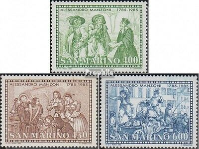 San Marino 1325-1327 (complete.issue.) unmounted mint / never hinged 1985 Alessa