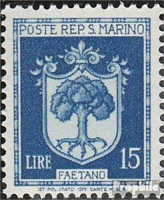 San Marino 330 unmounted mint / never hinged 1945 clear brands - Crest