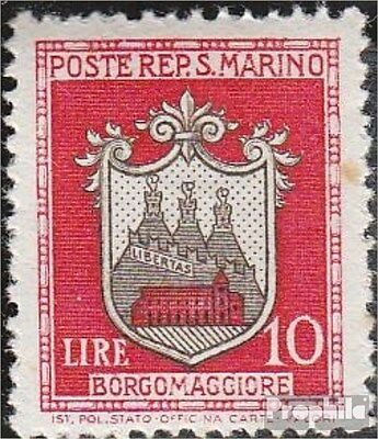 San Marino 329 unmounted mint / never hinged 1945 clear brands - Crest