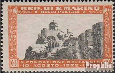 San Marino 210 unmounted mint / never hinged 1935 Wall and Hochstrasse
