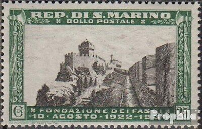 San Marino 211 unmounted mint / never hinged 1935 Wall and Hochstrasse