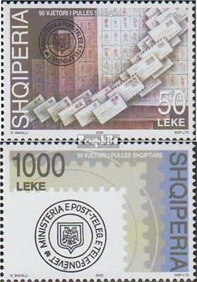 Albania 2931-2932 (complete.issue.) unmounted mint / never hinged 2003 90Jahre a