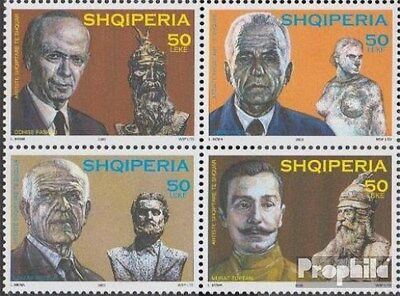 Albania 2954-2957 block of four (complete.issue.) unmounted mint / never hinged