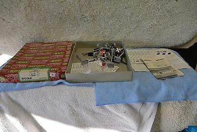 Vintage Train G Scale LGB 5032 Set of Warning Signs w Box  and stickers 0645