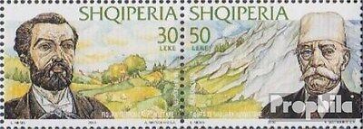 Albania 2778-2779 Couple (complete.issue.) unmounted mint / never hinged 2000 Pe