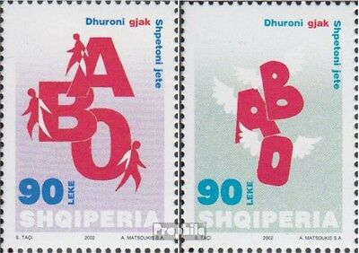 Albania 2884-2885 (complete.issue.) unmounted mint / never hinged 2002 Blood Tra