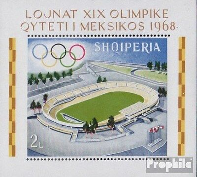 Albania block33a (complete.issue.) unmounted mint / never hinged 1968 Olympics S