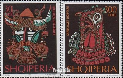 Albania 2718-2719 (complete.issue.) unmounted mint / never hinged 1999 Karnevals