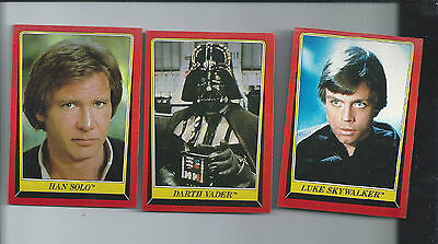 1983 Topps Star Wars Return of the Jedi Series 1 Complete Set  132 Cards Ex/mt