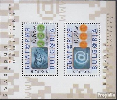 Bulgaria block246 (complete.issue.) unmounted mint / never hinged 2001 Bulgaria