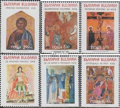 Bulgaria 4130-4135 (complete.issue.) unmounted mint / never hinged 1994 Icons