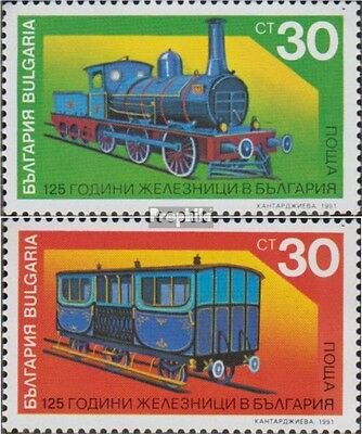 Bulgaria 3938-3939 (complete.issue.) unmounted mint / never hinged 1991 Bulgaria