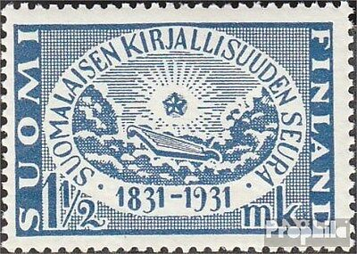 Finland 163 fine used / cancelled 1931 Finnish literature society