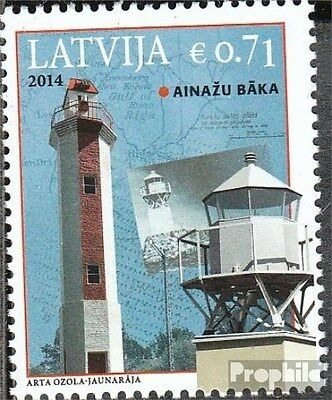 Latvia 920 (complete.issue.) unmounted mint / never hinged 2014 Lighthouse