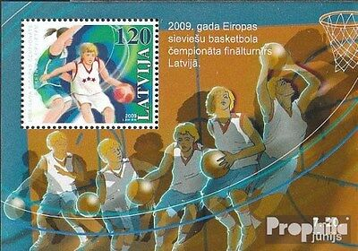 Latvia Block27 (complete.issue.) unmounted mint / never hinged 2009 Basketball