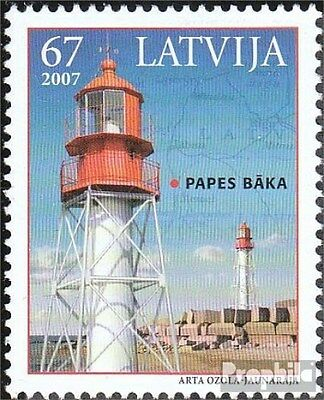 Latvia 699A (complete.issue.) unmounted mint / never hinged 2007 Lighthouse