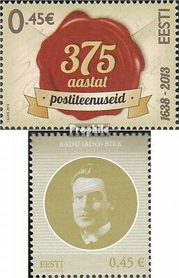 Estonia 775,776 (complete.issue.) unmounted mint / never hinged 2013 Post, Birk