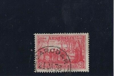 1937 Australia NSW SG 193 variety retouched EA good used