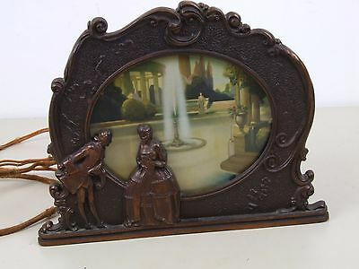 Vintage 1930s Moving Picture Lamp