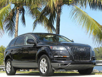2013 Audi Q7 Q7-ONE OWNER LOW MILE GEM FINEST ON EBAY NO RESERV 2013 AUDI Q7 ALL WHEEL-CARFAX GUARANTEED-1 OWNER FINEST ANYWHERE-NO RESERVE