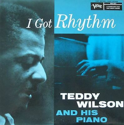 Teddy Wilson And His Piano - I Got Rhythm (rare RE Japan Verve-Records LP)
