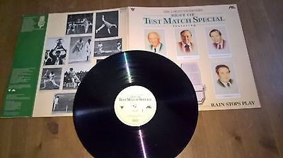 Best Of Test Match Special - Vinyl Lp - The Lord Taverners- Haven Records1017 Uk
