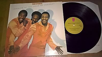 The O'jays - Lp - Travelin' At The Speed Of Thought - P.i.r - Uk - 81977