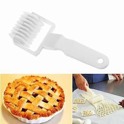 Fondant Bread Cookie Pie Pizza Pastry Lattice Roller Mold Cutter Kitchen Tool