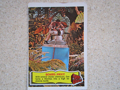 Land of The Giants. No 33  A & BC Gum Card.