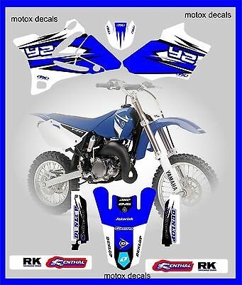 yam pro team series pts graphics yz 85 moto x decals stickers