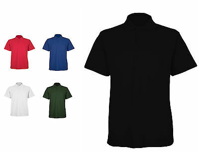 Mens Classic Polo T Shirts Size XS to 4XL BREATHABLE SPORTS WORK / UC-105