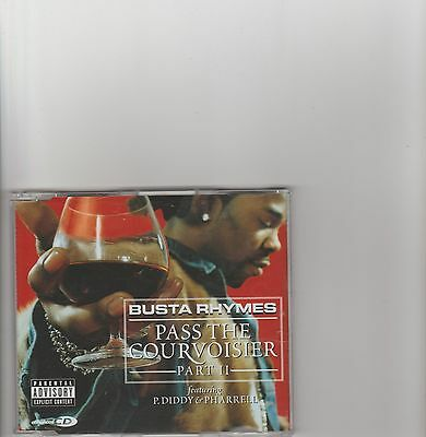 Busta Rhymes- Pass the Courvoisier Part 2 UK cd single