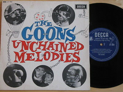 """The Goons """"unchained Melodies"""" 1964 10"""" Lp Very Good + Condition Decca Label"""