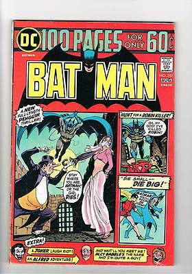 Batman # 257  Penguin 100 page issue 5.5 scarce book !!
