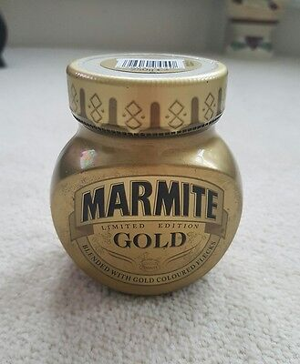 Collectable marmite gold limited edition jar 250g sealed