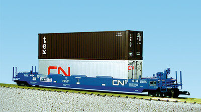 USA Trains G Scale Intermodal Single Car R17125 Candian National (No Container)