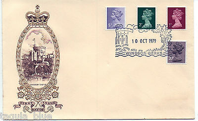 10-10-1979 Definitive Issue First Day Cover WINDSOR BERKS special h/s
